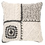 Mezze knitted cushion