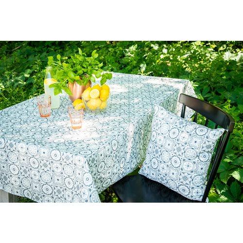 Mosaïque grey tablecloth