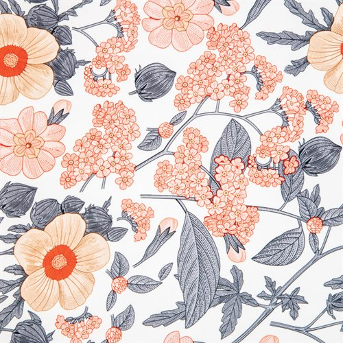 Coussin imprimé Sakura