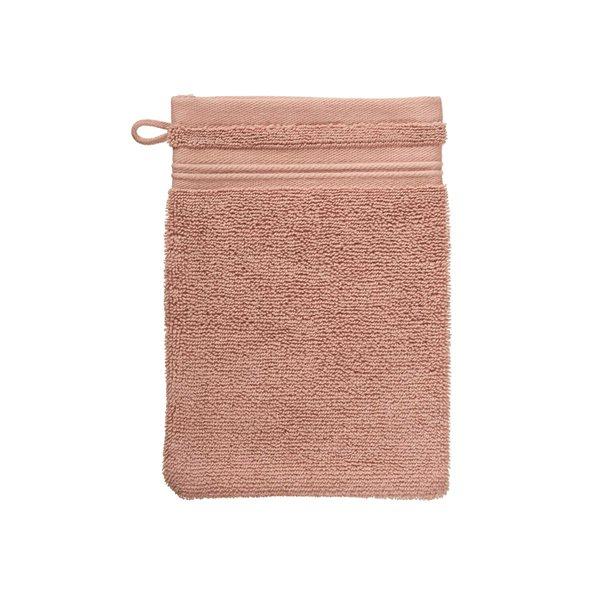 Spa pink wash glove
