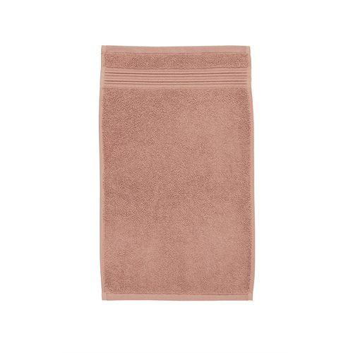 Spa pink guest towel