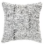 Siam knitted cushion