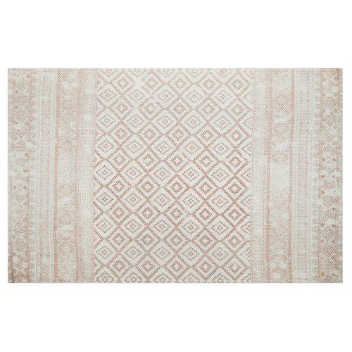 Carpette rose inspiration Indienne Slavia