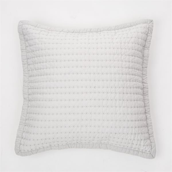 St-James grey cushion cover