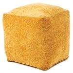 Toro mustard pouf